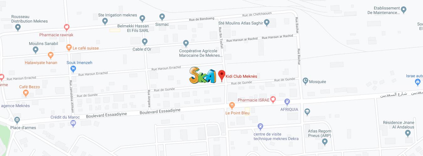 Voir dans google maps